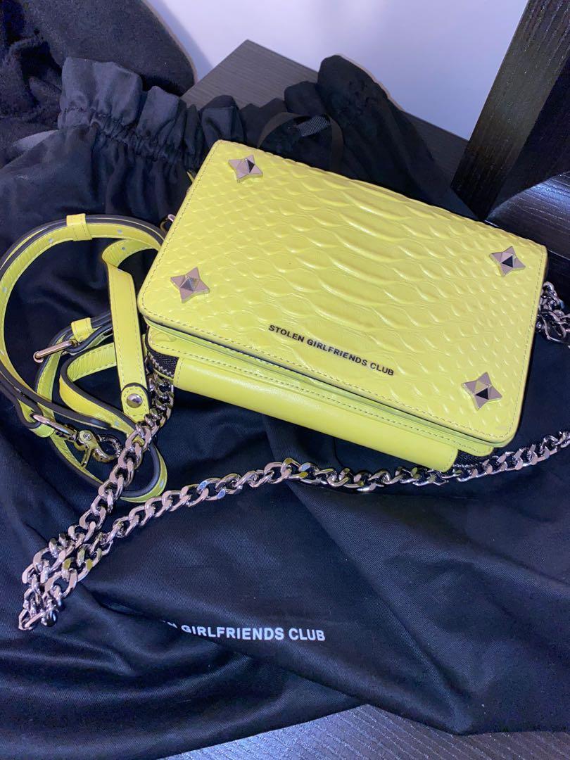 Stolen Girlfriends Club Acid Ninja Star Box Bag