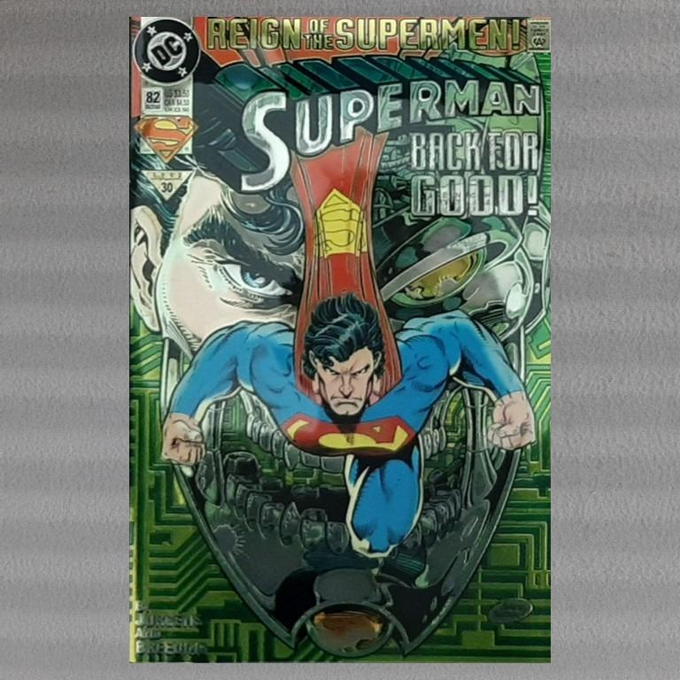 SUPERMAN FOR EARTH NEAR MINT 1991 TPB DC COMICS