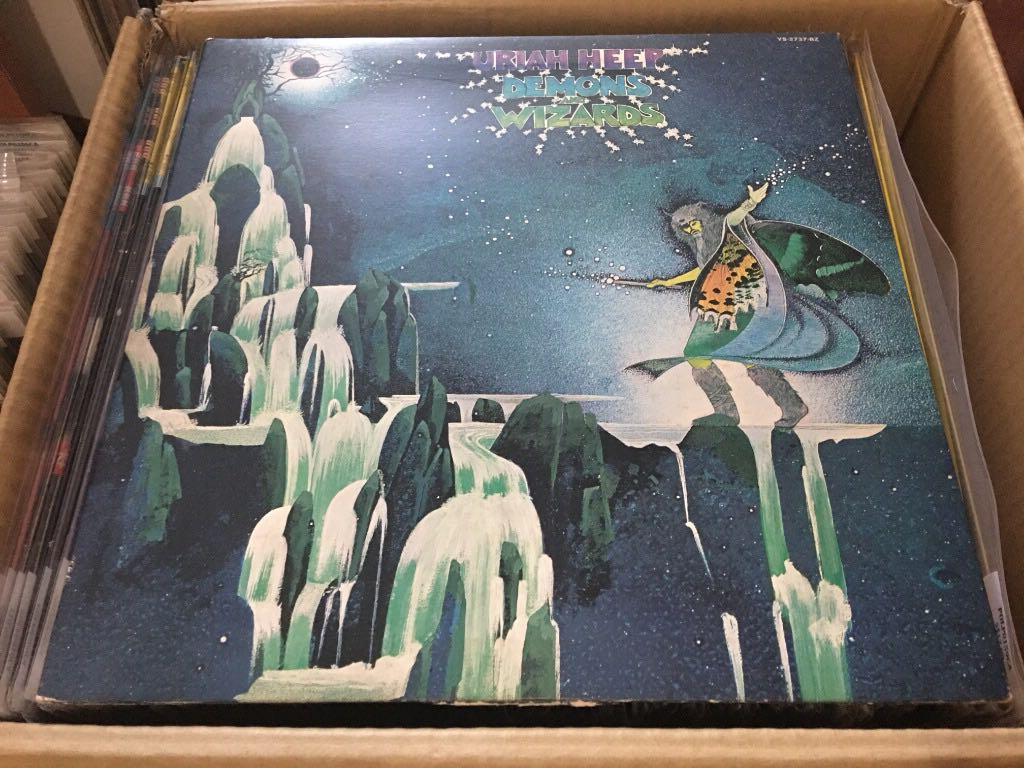 Uriah Heep Demons And Wizards Lp Jap Press Polp0325ca Music Media Cds Dvds Other Media On Carousell