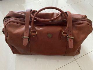 Wellington & Cromwell Leather Duffle Bag