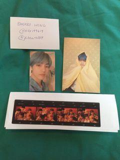 WTS BTS taehyung/V persona Ver. 2 Photocard or postcard