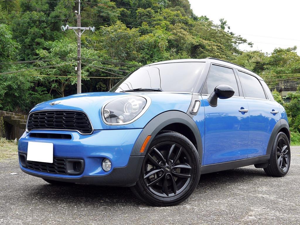全額貸款 2012年 MINI Countryman 1.6渦輪 一手車 原鈑件 可找錢
