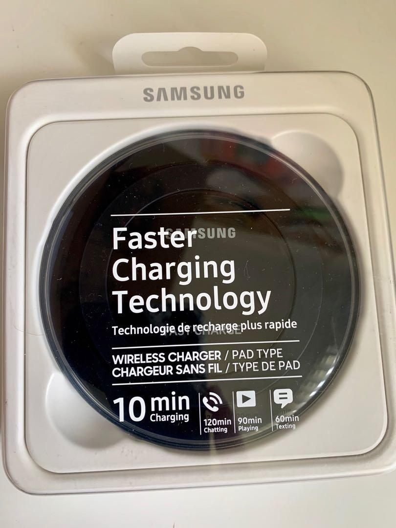 Brand new Samsung charging pads (white/black)