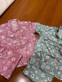 Bundle of silk Pair of pajamas