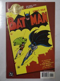 Dc Comics Millennium Website Batman 1 Books Stationery Comics
