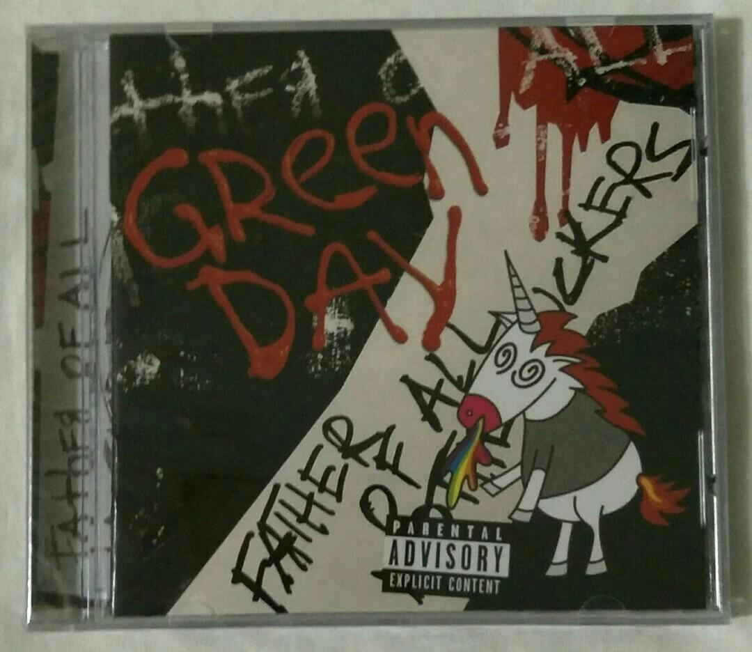 [Empire Music] Green Day - Father Of All Motherfuckers CD Album