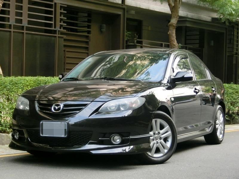 FB搜尋【世康中古車買賣】《熱門車款》2007年 MAZDA3 4D 黑2.0