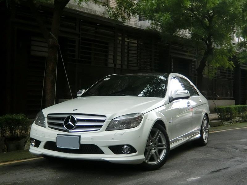 FB搜尋【世康中古車買賣】《熱門車款》2008年 賓士  C280 AMG白
