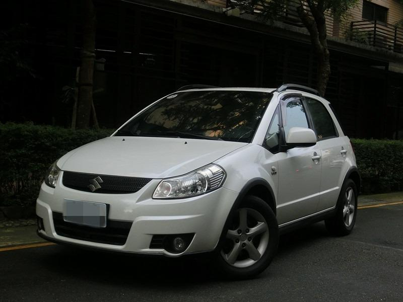 FB搜尋【世康中古車買賣】《熱門車款》2008年 SX-4白