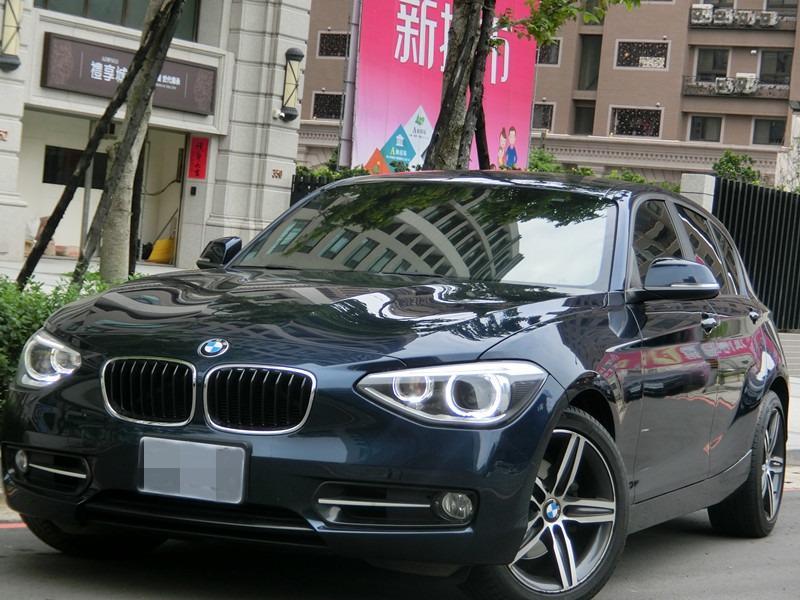 FB搜尋【世康中古車買賣】《熱門車款》2012年 BMW118I 藍1.6