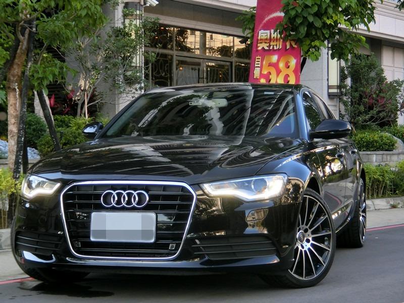 FB搜尋【世康中古車買賣】《熱門車款》2013年奧迪audi a6  2.0黑