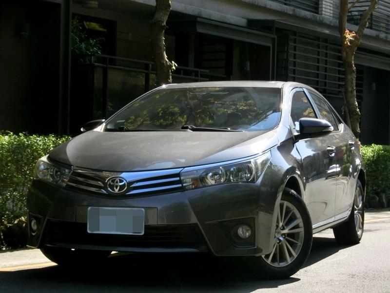 FB搜尋【世康中古車買賣】《熱門車款》2014年 altis g版 1.8灰