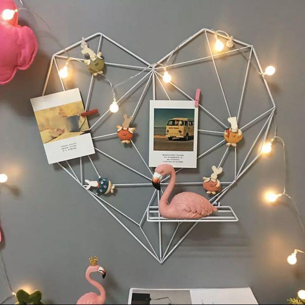 Heart Heart Diy Wall Decor Furniture Home Decor Others On Carousell