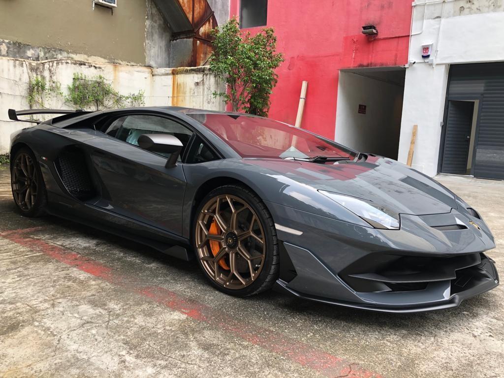 Lamborghini Aventador Svj coupe Auto