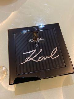 L'Oréal Paris x Karl Lagerfeld Eyeshadow Palette