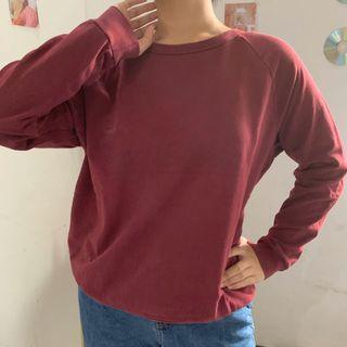 Pull & Bear red sweater
