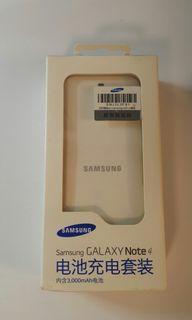 三星Samsung Galaxy Note 4 電池充電套裝 電池充電盒+電池 (⚠雙卡版適用,單卡版不適用⚠)