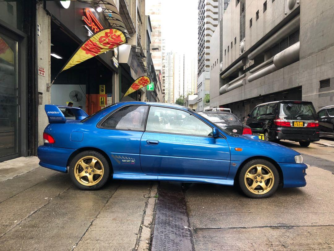 Subaru GC8 WRX STi TYPE R Manual
