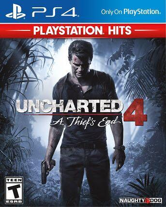 Uncharted 4 - CD PS4