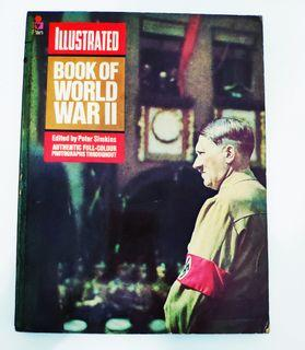 Vintage War History- ILLUSTRATED BOOK OF WORLD WAR TWO