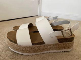 Women's Size 7 Platform Sandals