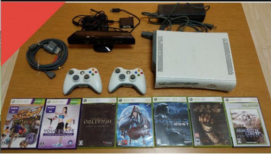 Xbox 360 Kinect 體感 遊戲