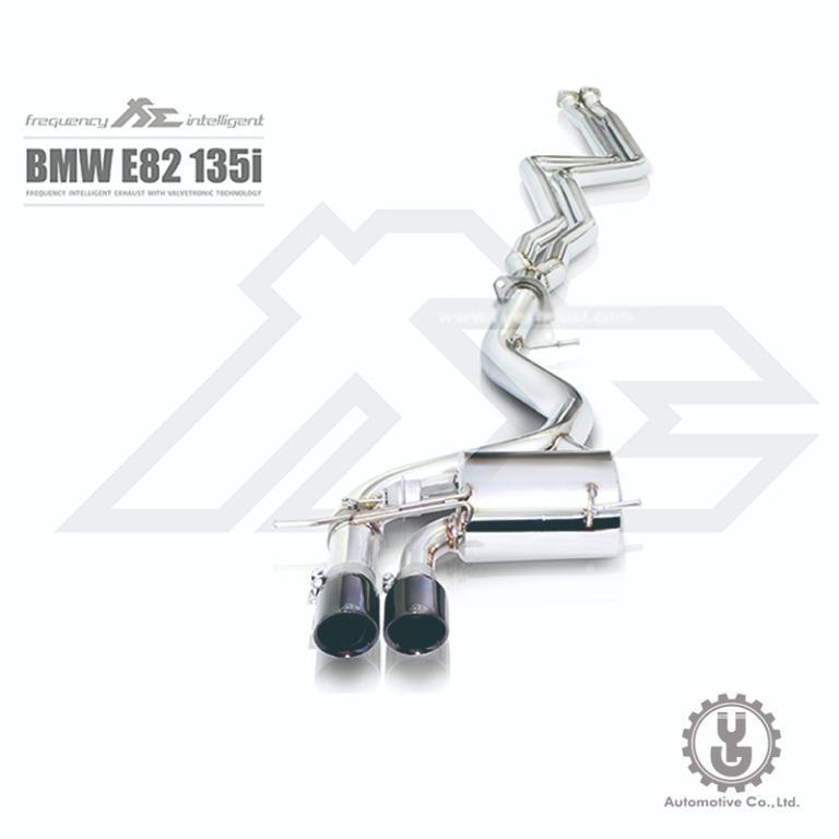 【YGAUTO】FI BMW E82 13 2008-2010(N54 Engine) 中尾段閥門排氣管 全新升級 底盤