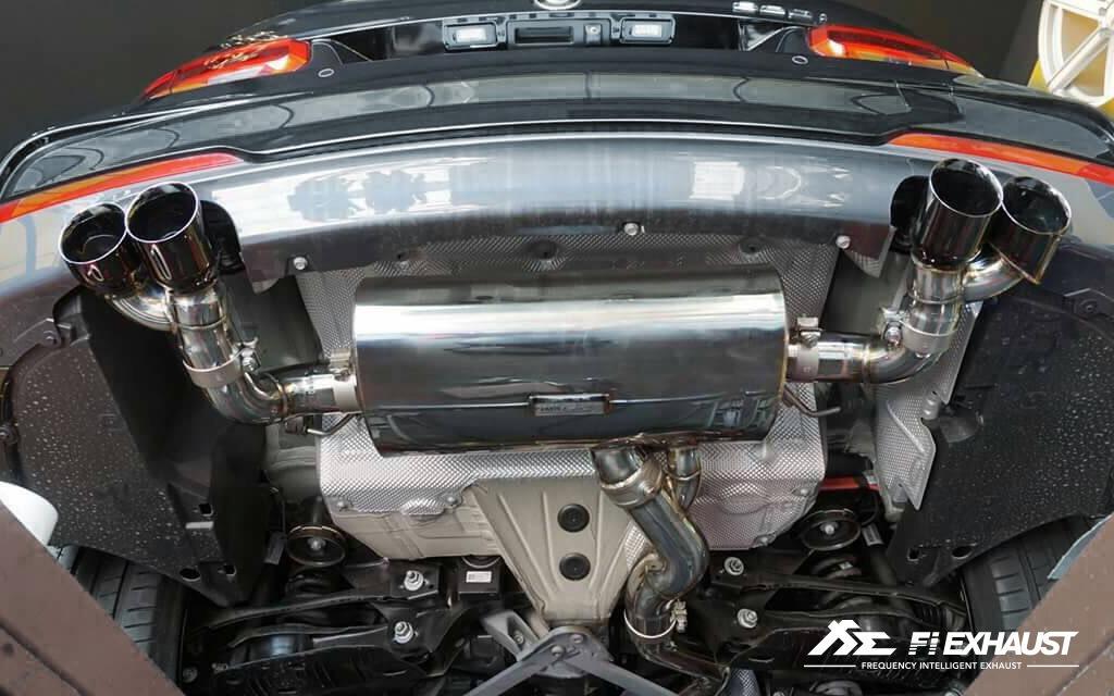 【YGAUTO】FI BMW F30 320i 330i B48 2012+ 中尾段閥門排氣管 全新升級 底盤