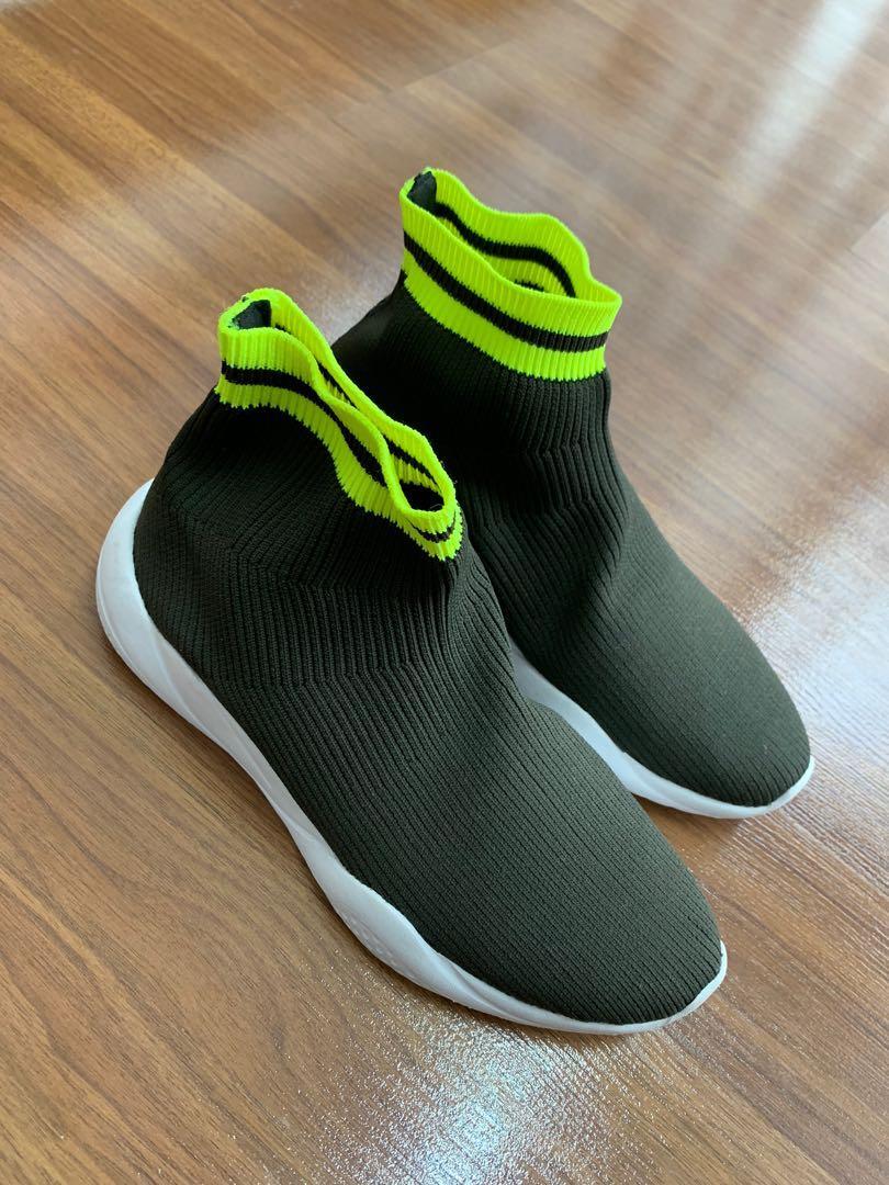 Zara Women Sock Style Sneakers, Women's