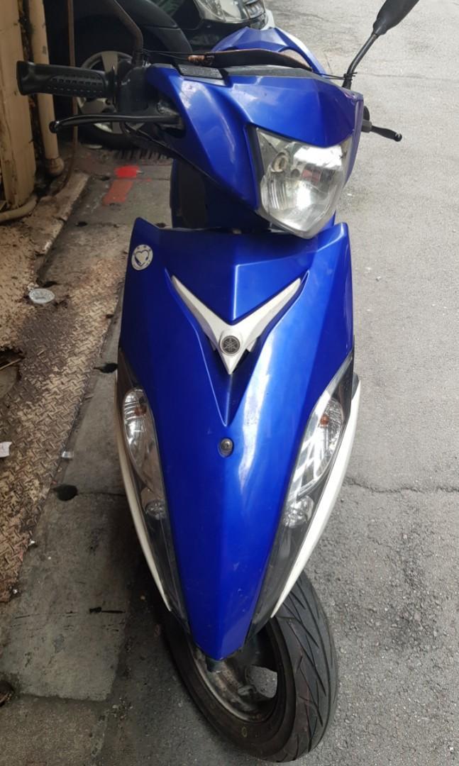 2013年/噴射版/前碟/藍RS-100