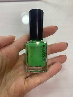 指甲油 亞洲色彩 蘋果綠 12ml