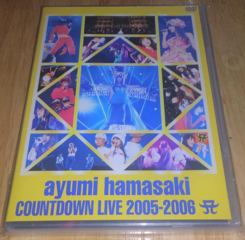 浜崎あゆみ / 濱崎步 / ayumi hamasaki / ayu - ayumi hamasaki COUNTDOWN LIVE 2005-2006 (日本盤 DVD) #carouselljackpot