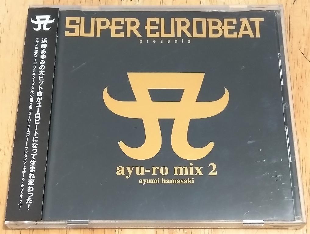 浜崎あゆみ / 濱崎步 / ayumi hamasaki / ayu - SUPER EUROBEAT presents ayu-ro mix 2 (日本通常盤) #carouselljackpot