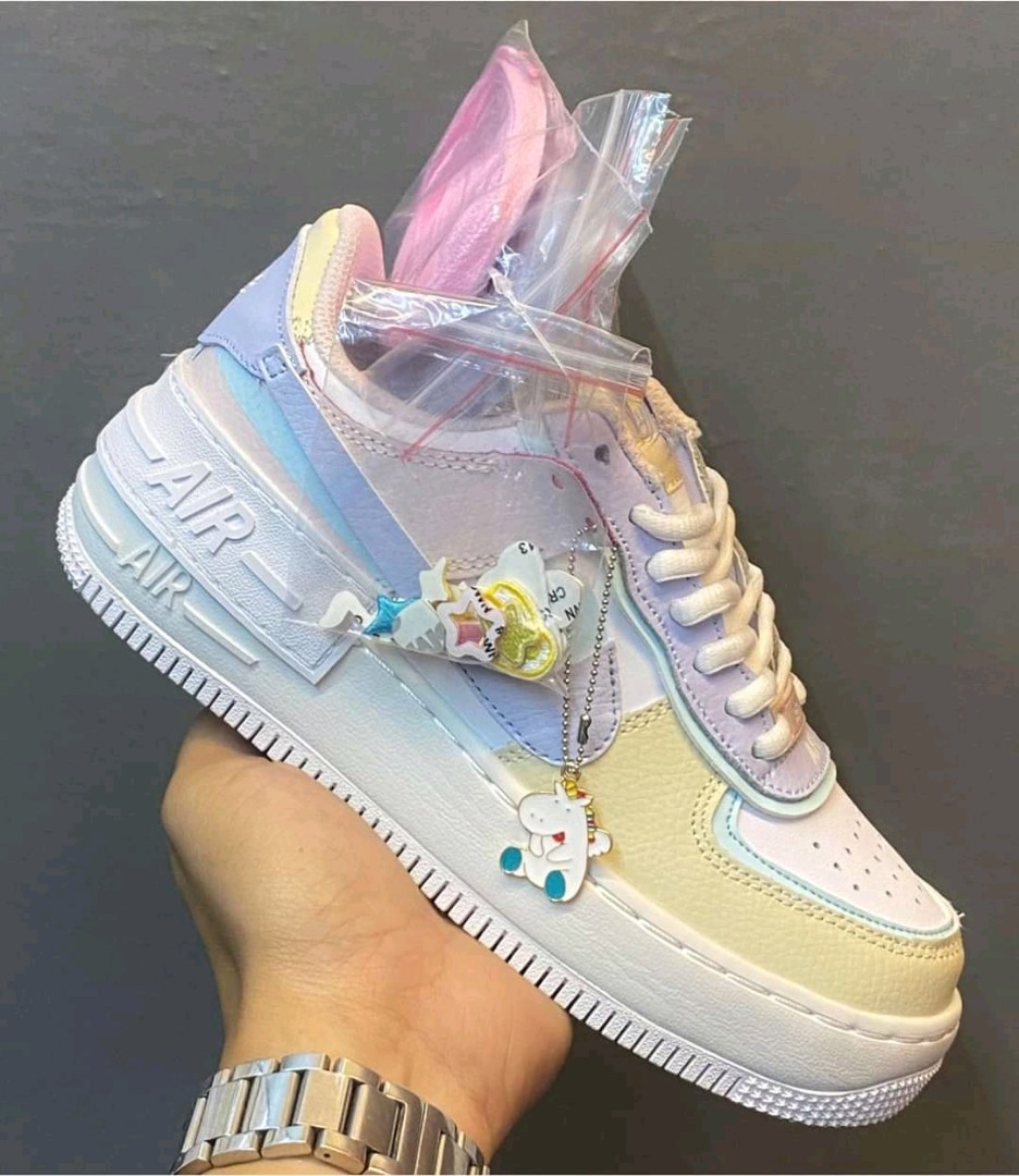 Air Force 1 Shadow Pastel Women S Fashion Shoes Sneakers On Carousell Hey sneakerfriends, ich hab hier für euch ein paar seltene und restlos nike air force 1 shadow ghost purple blue lila blau 39. air force 1 shadow pastel