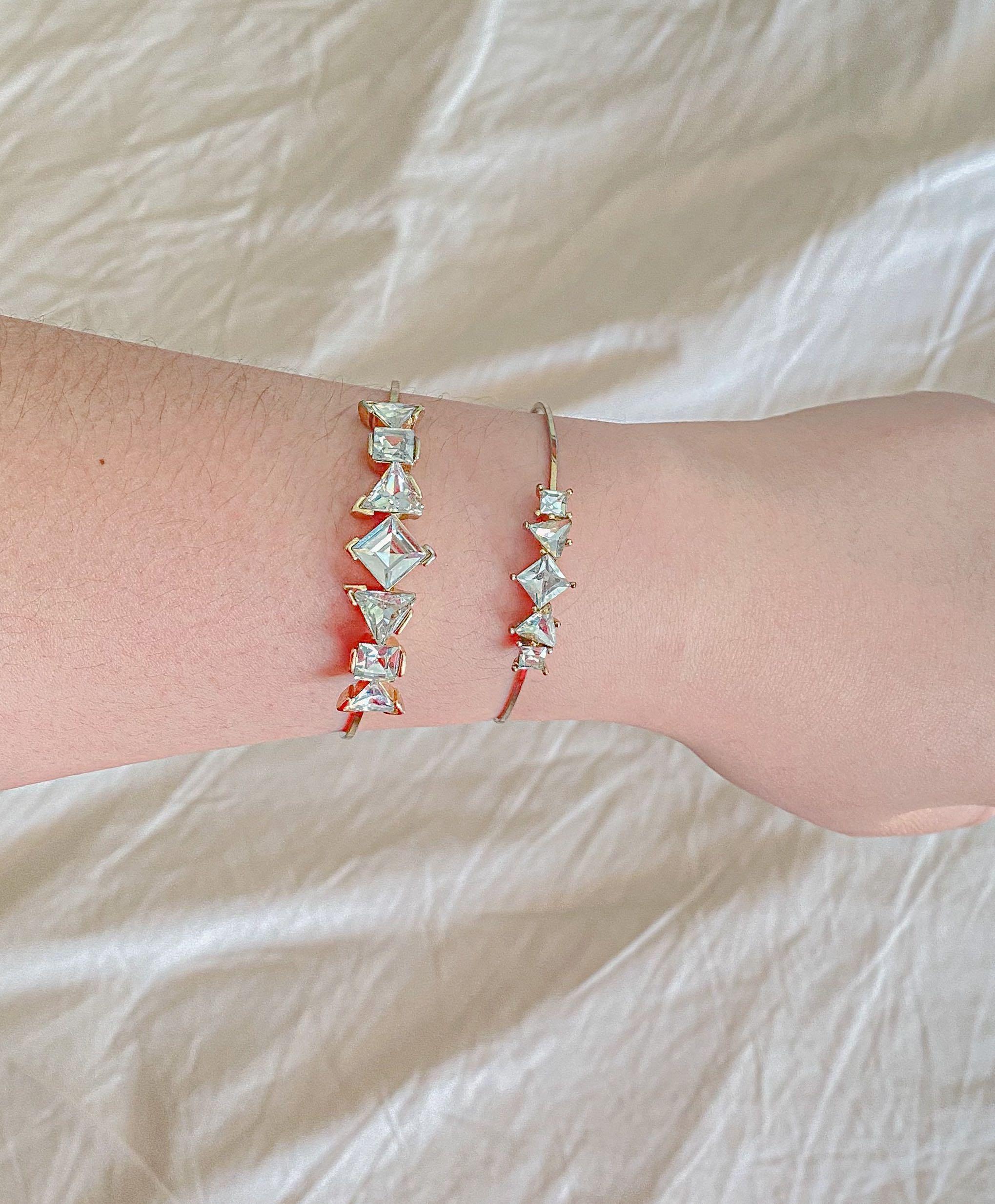 Aldo Fashion Diamond Bangles Bracelet