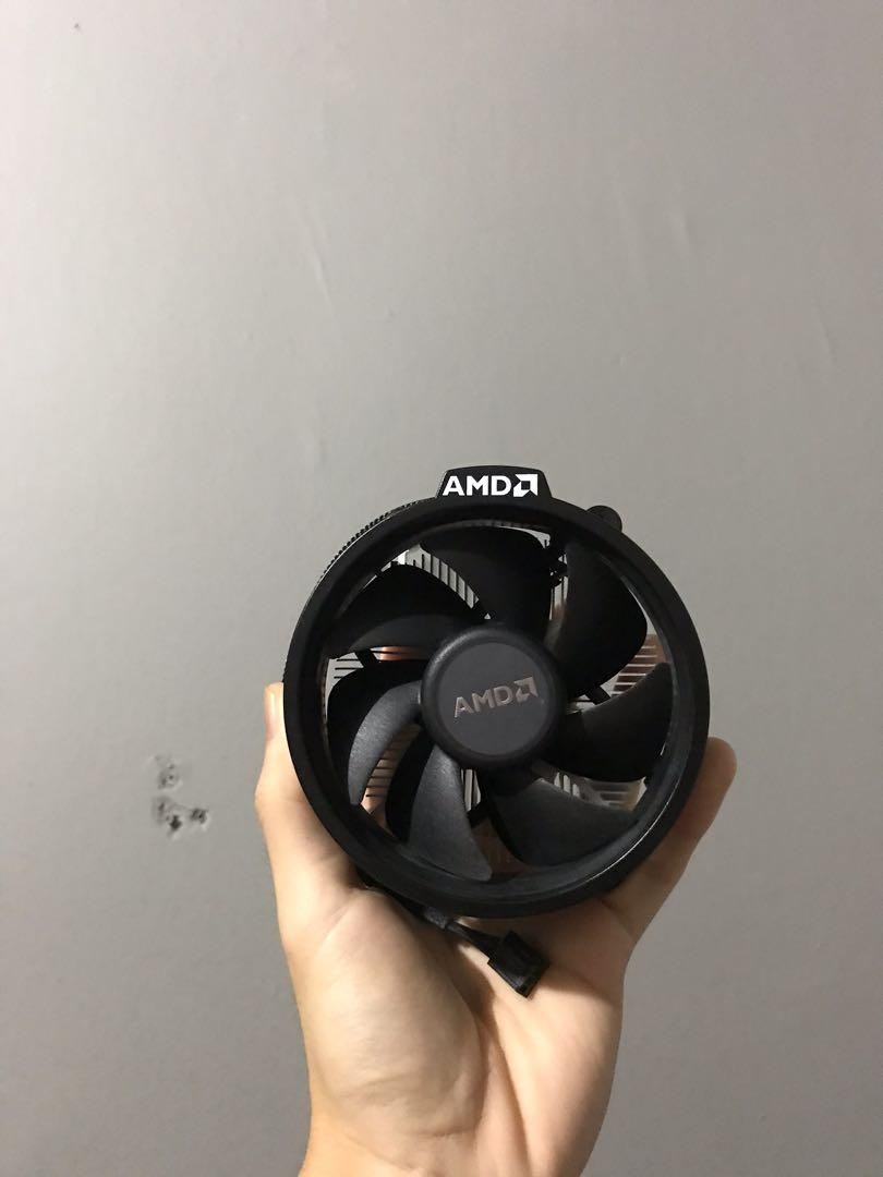 Amd Wraith Stealth Cpu Cooler Electronics Computer Parts Accessories On Carousell
