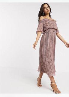 英國Asos) 薰衣草紫仙女洋裝