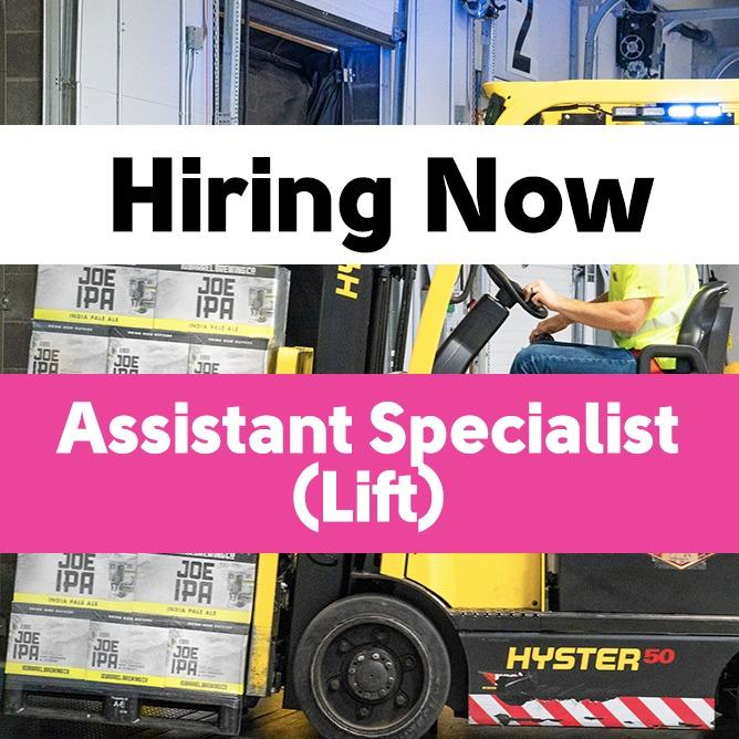 Assistant Specialist (Lift)