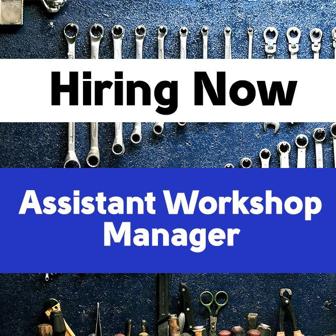 Assistant Workshop Manager