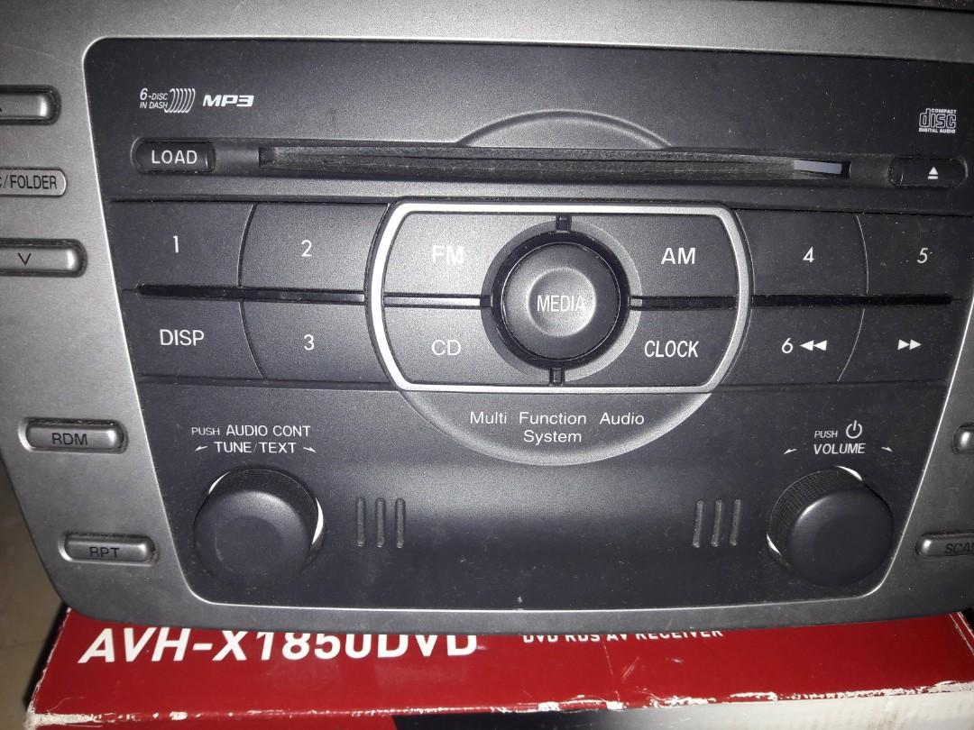 Audio car mp3 n dvd 2din