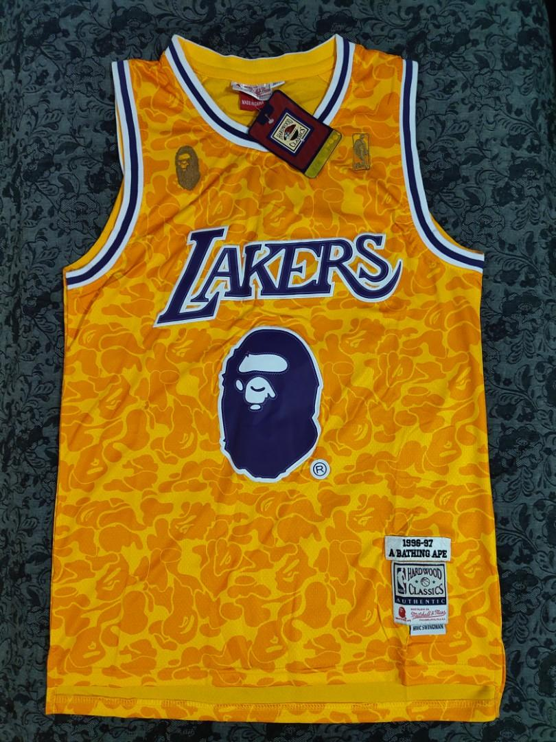 Bape X Lakers Jersey, Sports, Athletic