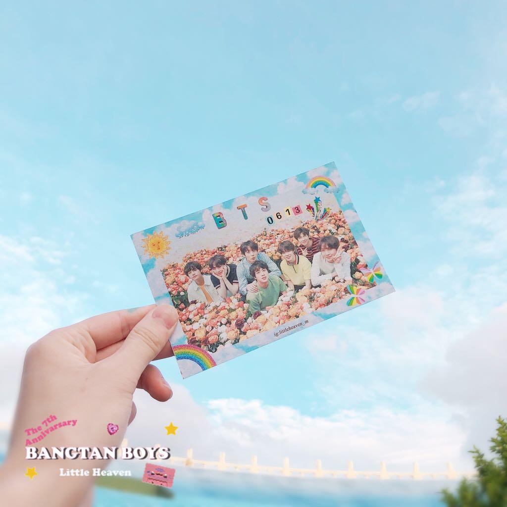 自設款♡防彈少年團BTS明信片酷卡兩款