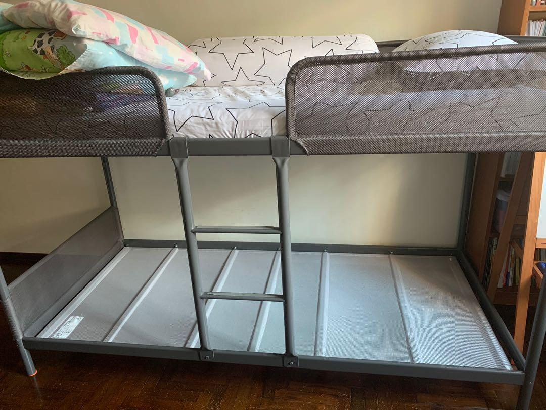 Bunk Bed Ikea Tuffing Furniture Beds Mattresses On Carousell