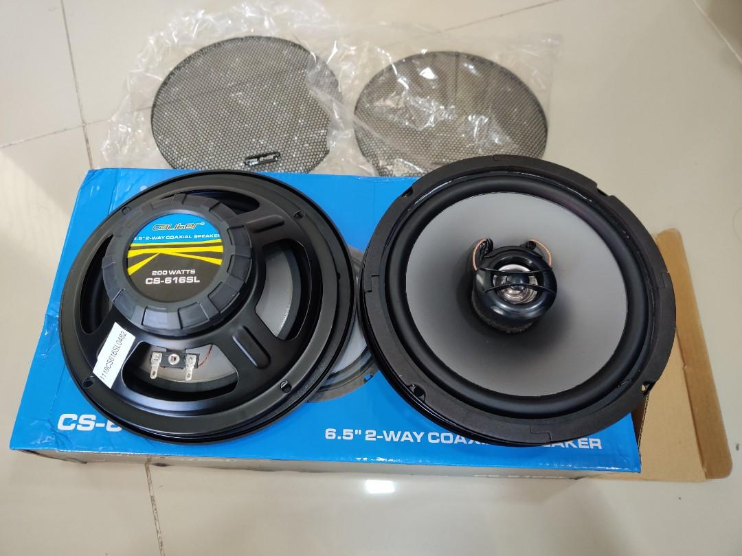 Caliber 6 5 Inch 2 Ways Speaker Auto Accessories On Carousell