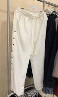Celana Kulot white pants pamelo