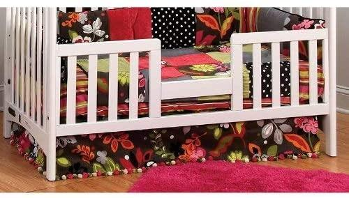 Child Craft White Logan Toddler Guard Rail for Logan Lifetime Convertible Crib