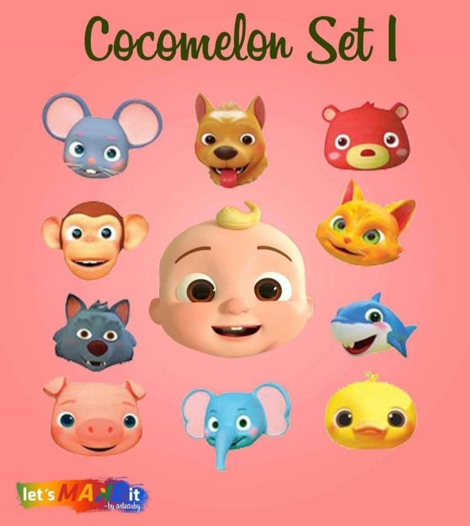 Cocomelon Pillow Babies Kids Toys Walkers On Carousell
