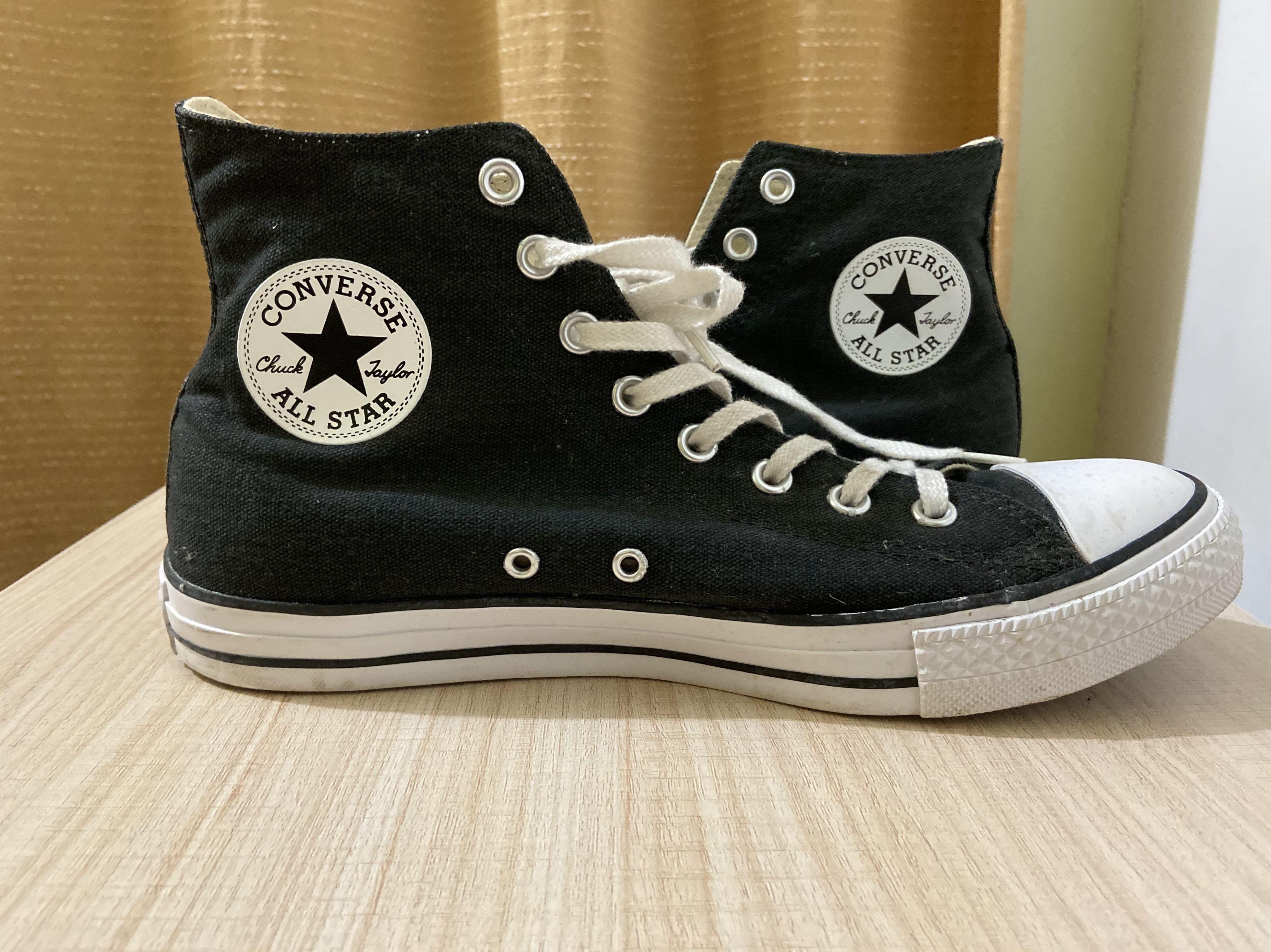 chuck taylor all star hi black