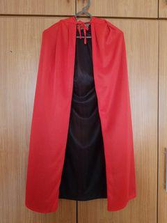 Cosplay Red Cloak