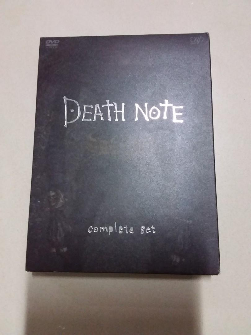 Death Note 日本版DVD